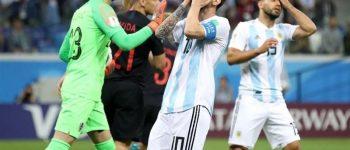 یاران مسی در یک قدمی از بین بردن از جام جهانی ، کرواسی با تحقیر آرژانتین افزایش کرد